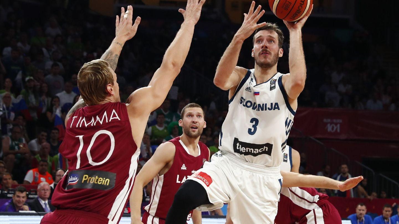 Goran Dragic promedia 21,9 puntos por partido en el EuroBasket. (Reuters)