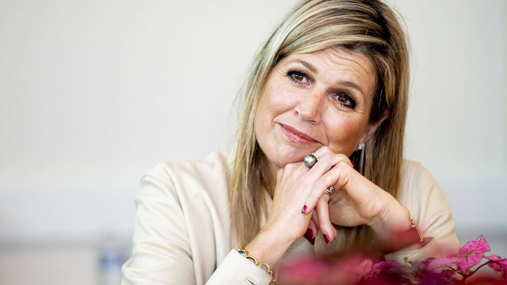 Foto: La reina Máxima de Holanda. (EFE)