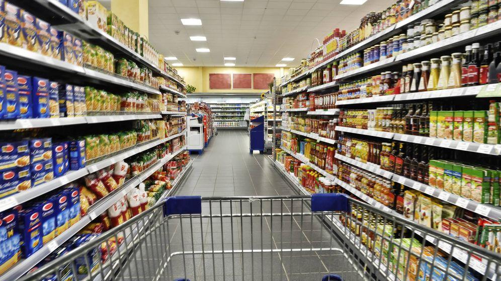 Foto: Productos comestibles en un supermercado. (iStock)