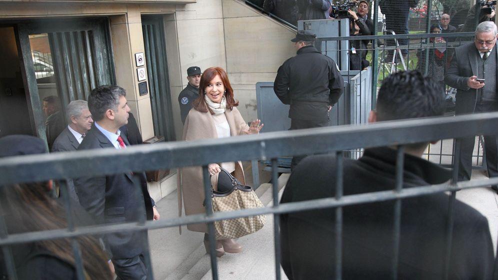 Foto: La expresidenta de Argentina y actual senadora Cristina Fernández.