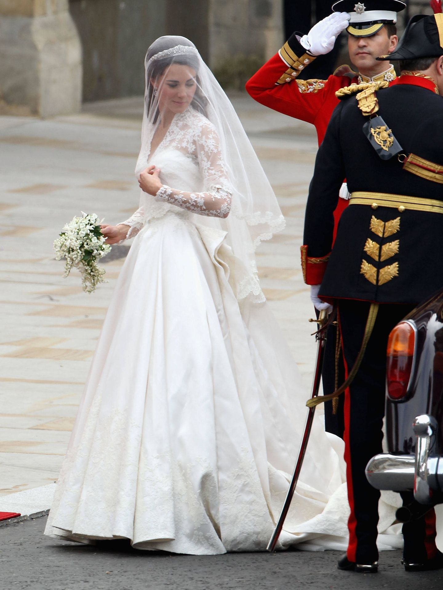 El vestido de Kate. (Getty)