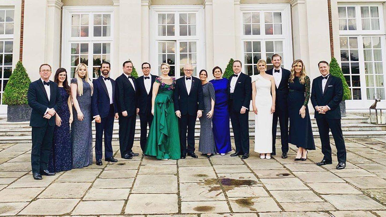 Foto de grupo de la delegación americana.  (Redes)