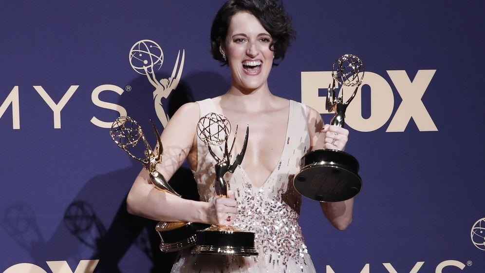 Foto: Phoebe Waller-Bridge, en los premios Emmys. (EFE)
