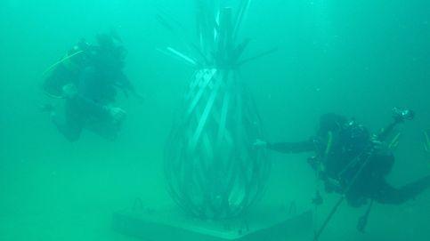 Exposición de arte bajo el agua