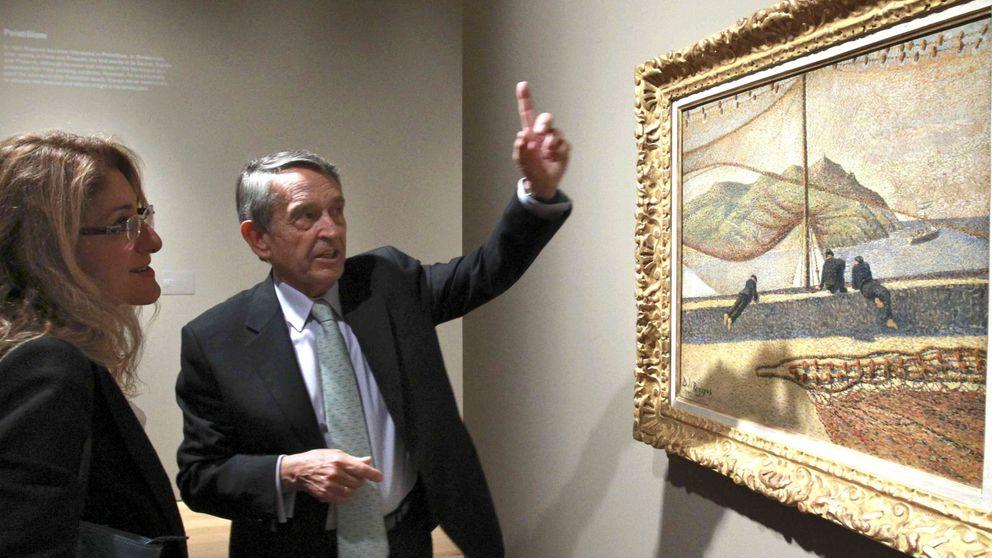 Pinturas de Darío Regoyos en venta, en el Museo Thyssen