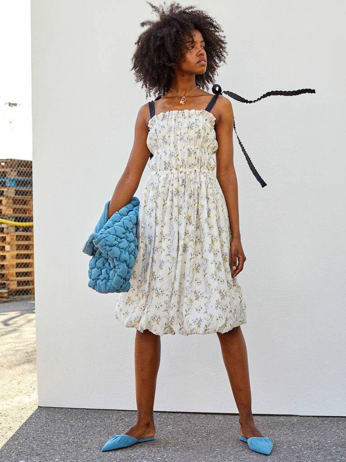 El vestido de HyM en colaboración con Brock Collection. (Cortesía)