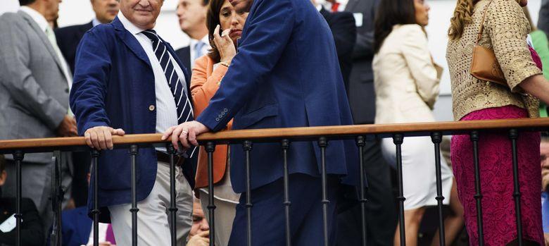 Foto: A la izquierda, Ignacio López del Hierro (EFE)