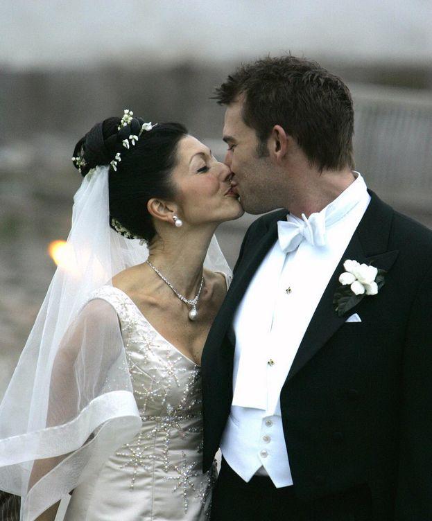 Foto: Alexandra y Martin el día de su boda (Gtres)