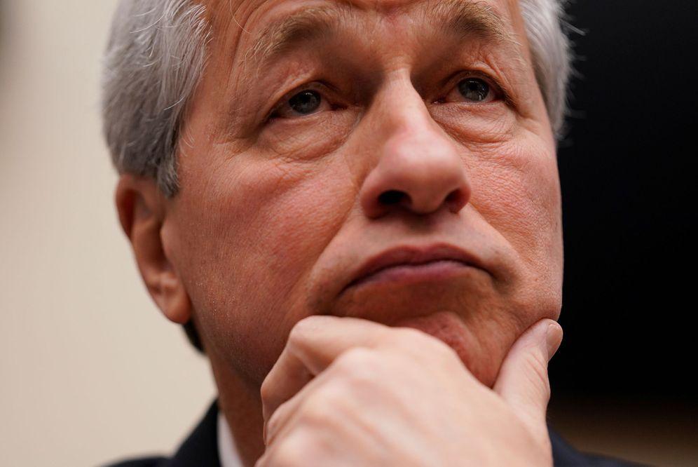 Foto: Jamie Dimon, CEO de JP Morgan, aboga por una subida de impuestos.