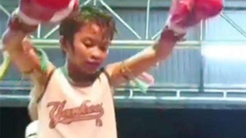 Brutales combates de boxeo entre niños en Tailandia