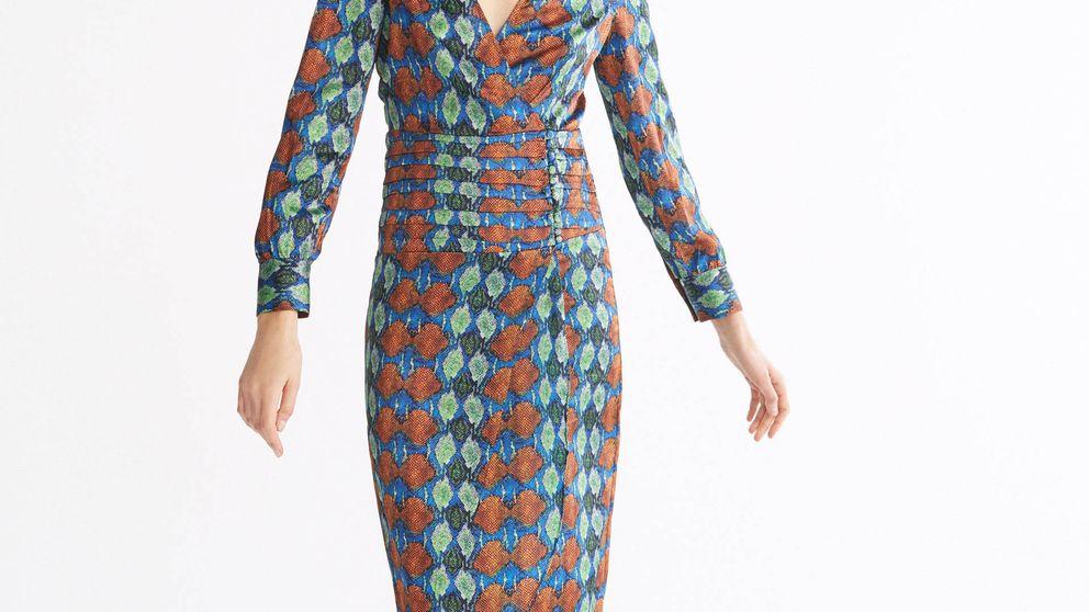 El vestido perfecto para el afterwork de septiembre está en las rebajas de Uterqüe