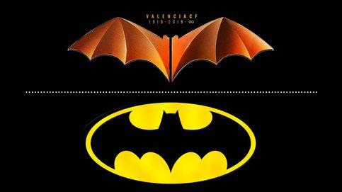 Batman contra el Valencia CF: DC Comics denuncia el murciélago del centenario