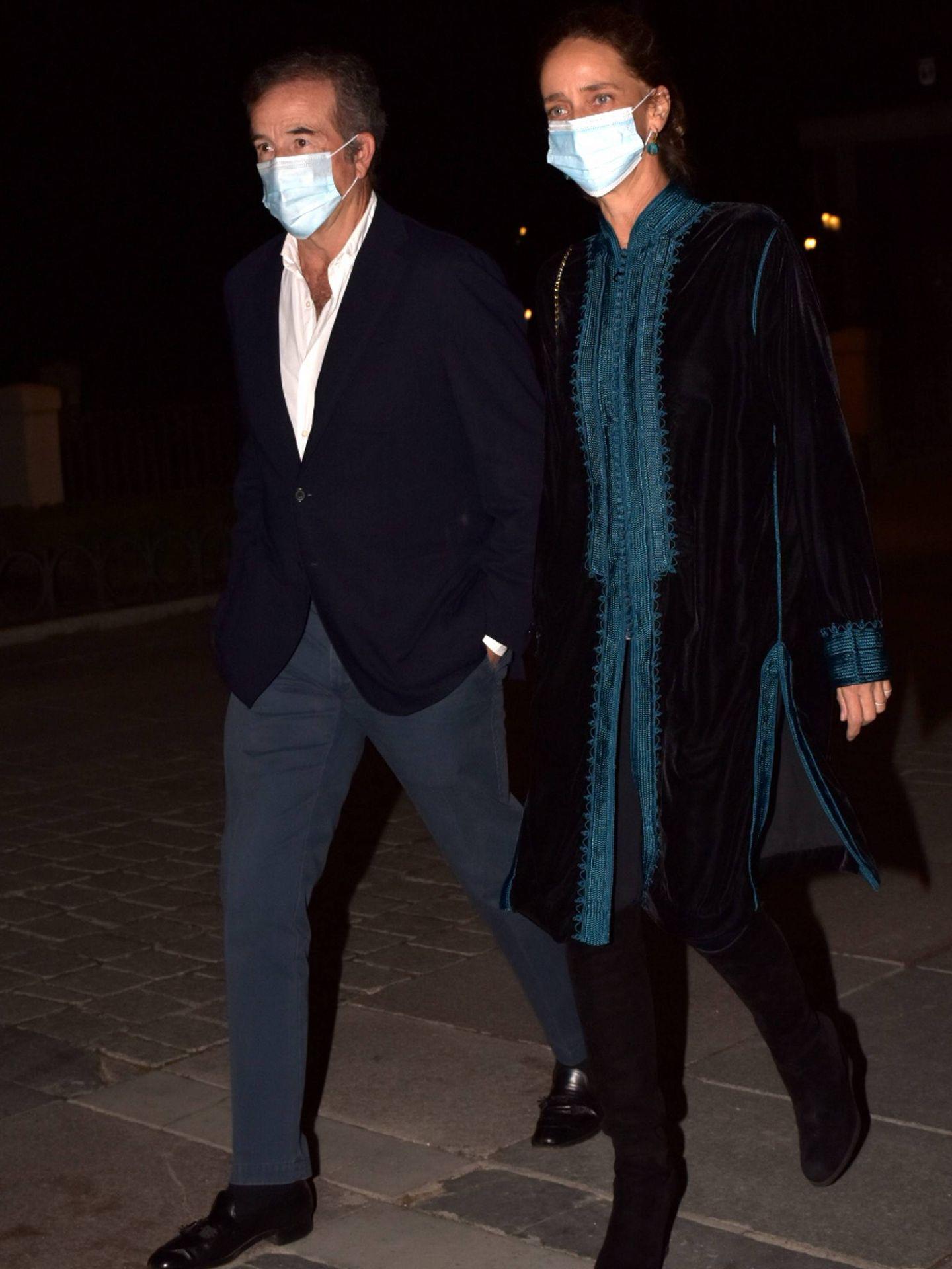 Blanca Suelves y su marido, Ioannes Osorio. (CP)