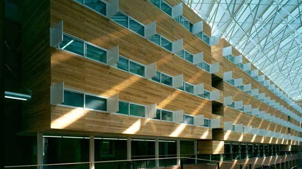 Foto: Campus de la Ciutadella de la Universidad Pompeu Fabra (BSM)