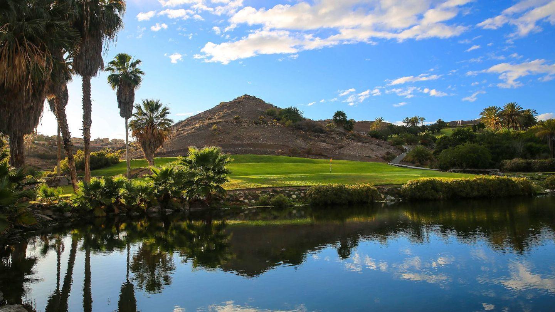 El Sheraton Gran Canaria, el reino del golf isleño.