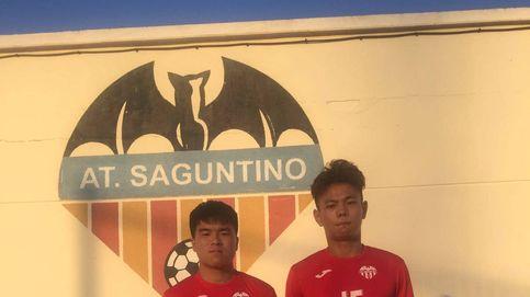 Saguntino, La Roda y Eldense: el jugador chino toma impulso en la Segunda B