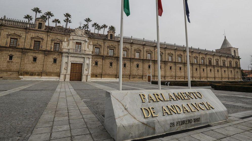 Foto: Parlamento de Andalucía. (EFE)