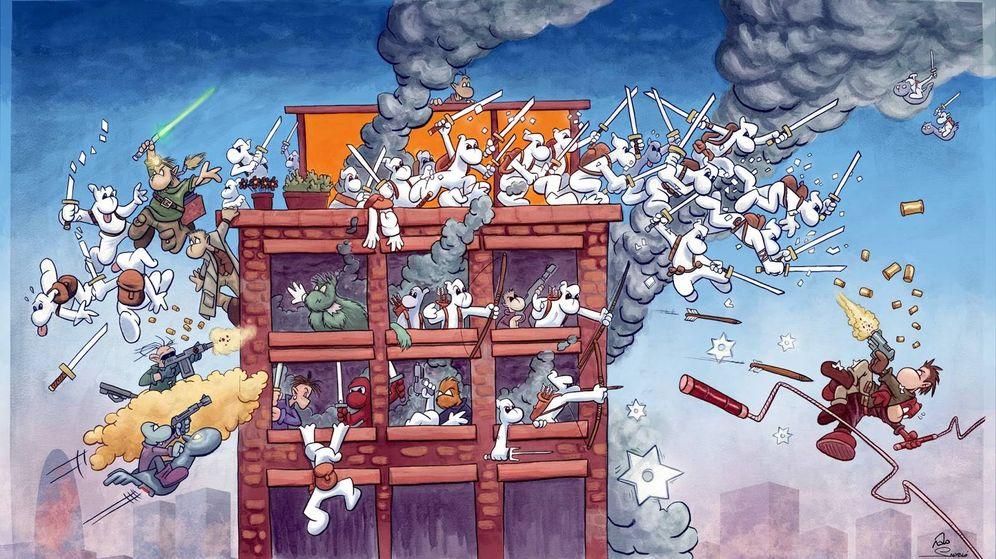 Foto: La saga de cómic 'Fanhunters' es el trabajo más conocido de Piñol.