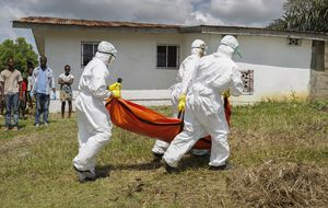 Llega a Liberia la primera vacuna contra el virus del Ébola esta noche
