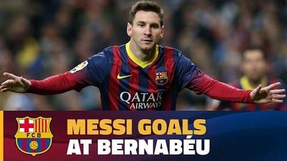 Los mejores goles de Leo Messi en el Santiago Bernabéu