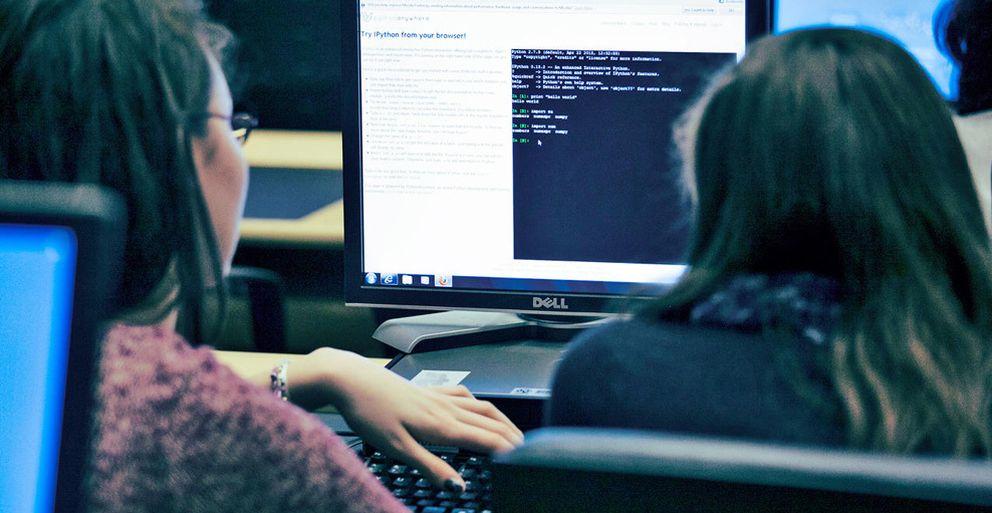 Foto: Las niñas no quieren ser programadoras
