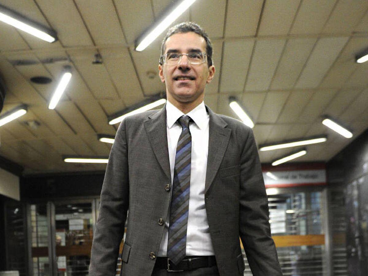Foto: Carlos Koplowitz, en los juzgados. (EFE)