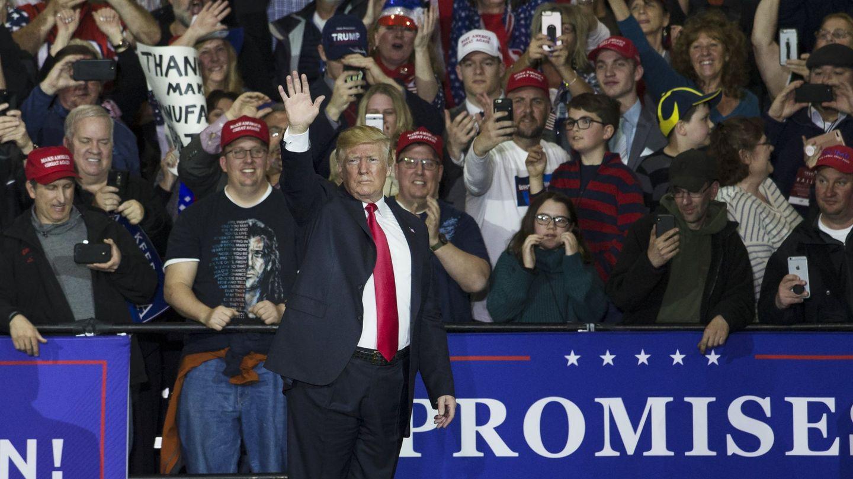 Discurso de Trump en Washington Township, Michigan (EEUU). (Reuters)