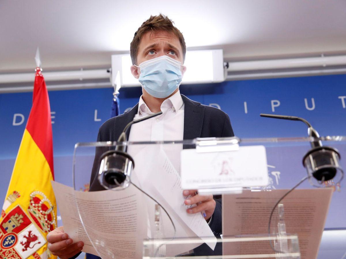 Foto: El portavoz de Más País, Íñigo Errejón. (EFE)