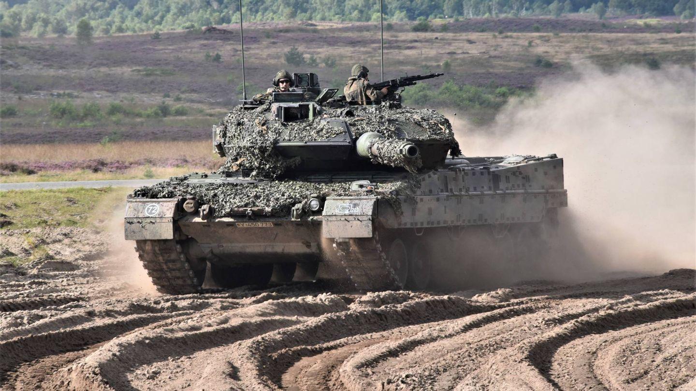 Leopard 2A7. Se trata de la versión más avanzada de este carro de combate (KMW)