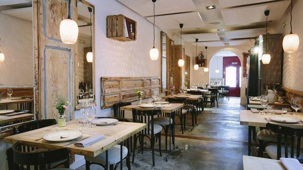 Foto: Sala del restaurante Triciclo.