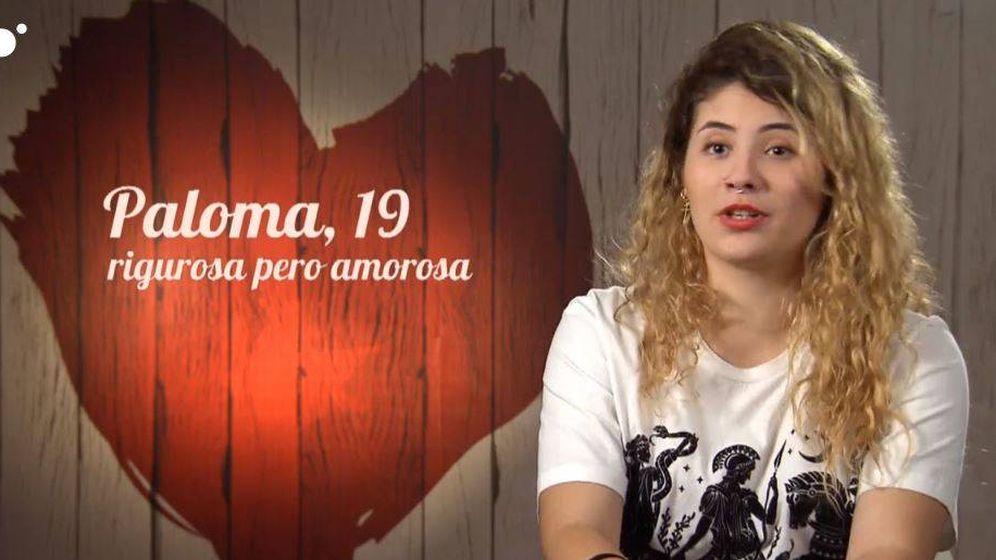 Foto: Paloma, concursante de 'First Dates'. (Cuatro)