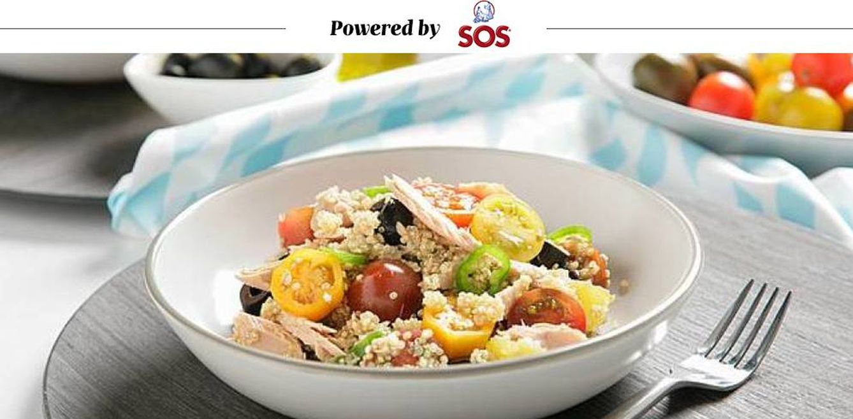 Foto: Empieza la temporada de ensaladas. SOS te propone una de quinoa