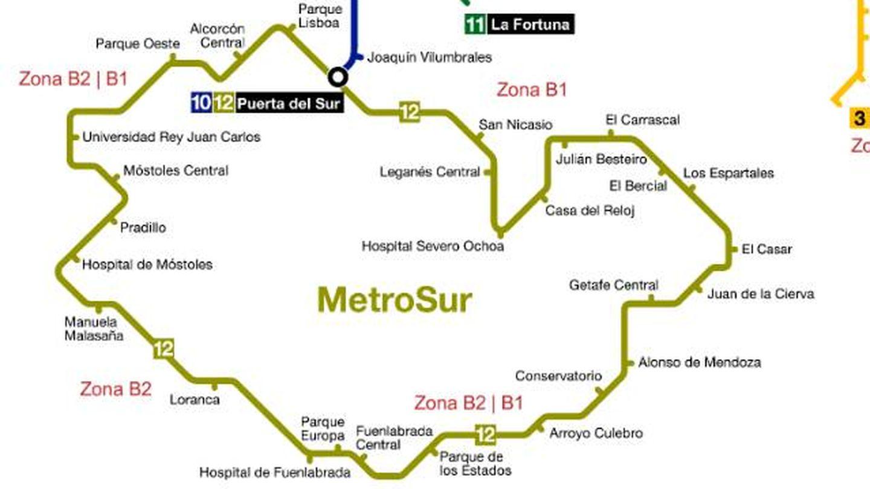 MetroSur, la otra circular.