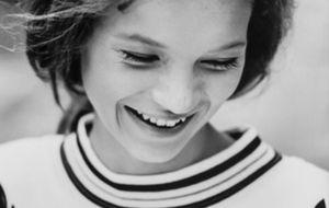 Kate Moss, una lolita de 14 años a subasta