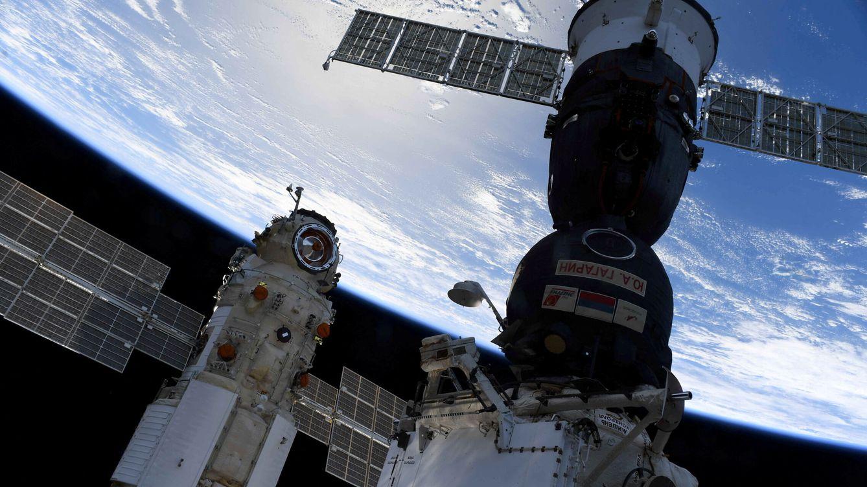 Foto: El módulo Nauka que puso a la estación espacial internacional en estado de emergencia (Oleg Novitskiy - Roscosmos)