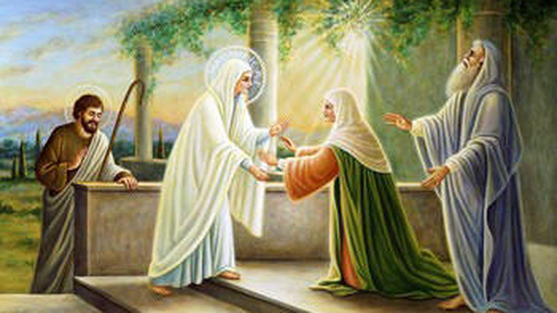 Visitación de la Virgen a su prima Isabel