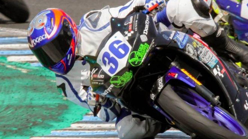 Muere el piloto de motos Marcos Garrido Beltrán, de 14 años, en el Circuito de Jerez