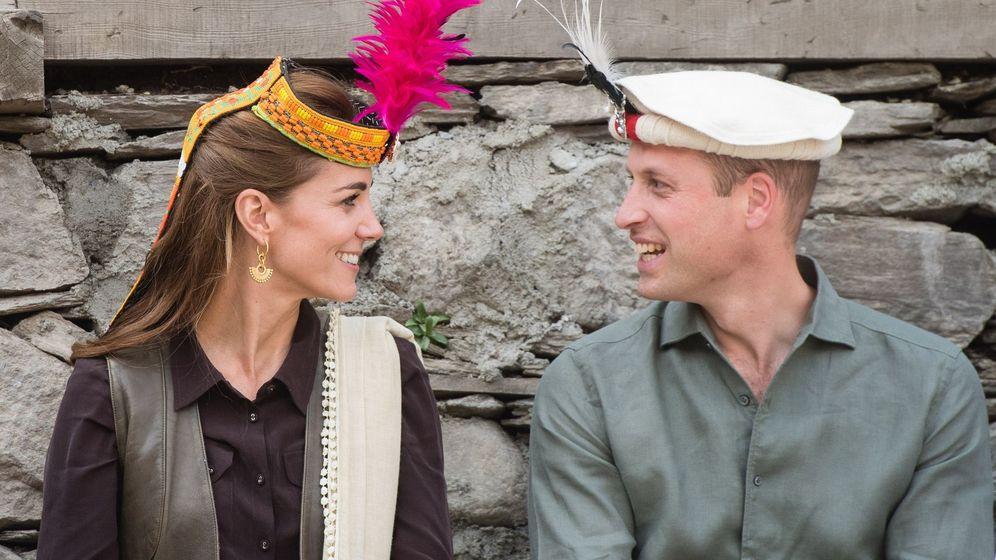 Foto: Los duques de Cambridge, en su viaje a Pakistán. (EFE)
