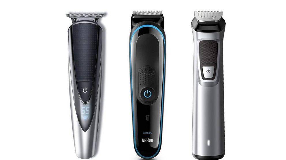 Recortadoras de barba y afeitadoras para recortarte el pelo sin salir de casa