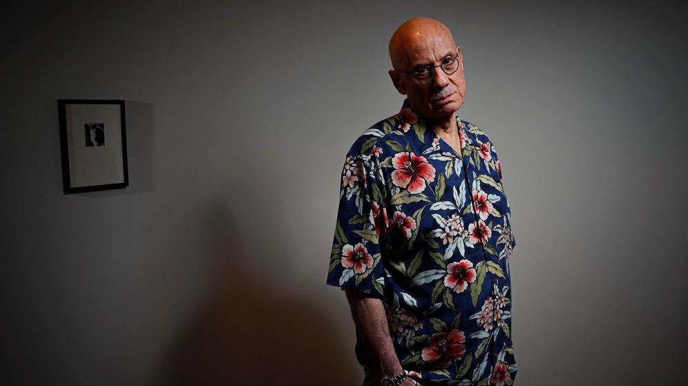 Foto: James Ellroy esta semana en Madrid. (EFE)