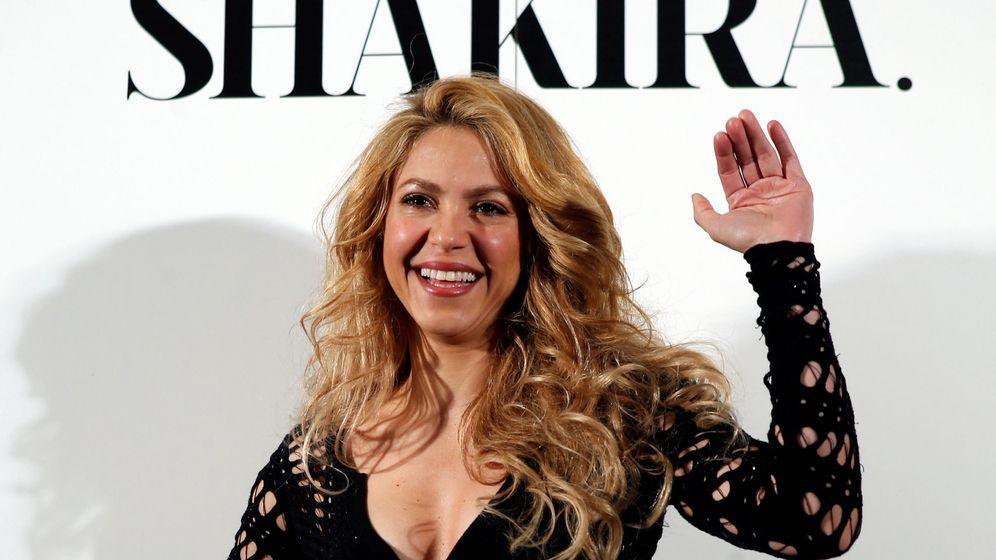 Foto: Shakira en una presentación en Barcelona. (Reuters)