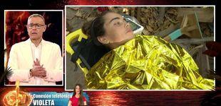 Post de 'Supervivientes' aclara la situación de la evacuada Violeta (con dardo a Dakota)