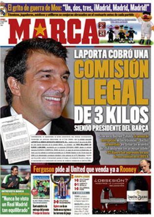 Foto: Laporta demanda a Rosell, a su auditoría y al diario Marca