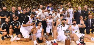 Post de El Real Madrid conquista la ACB tras ganar al Barcelona en su casa