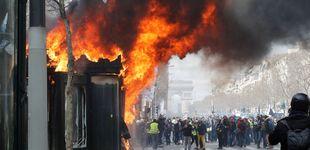 Post de Altercados en Francia: ultimátum de los chalecos a Macron tras su ley antidisturbios