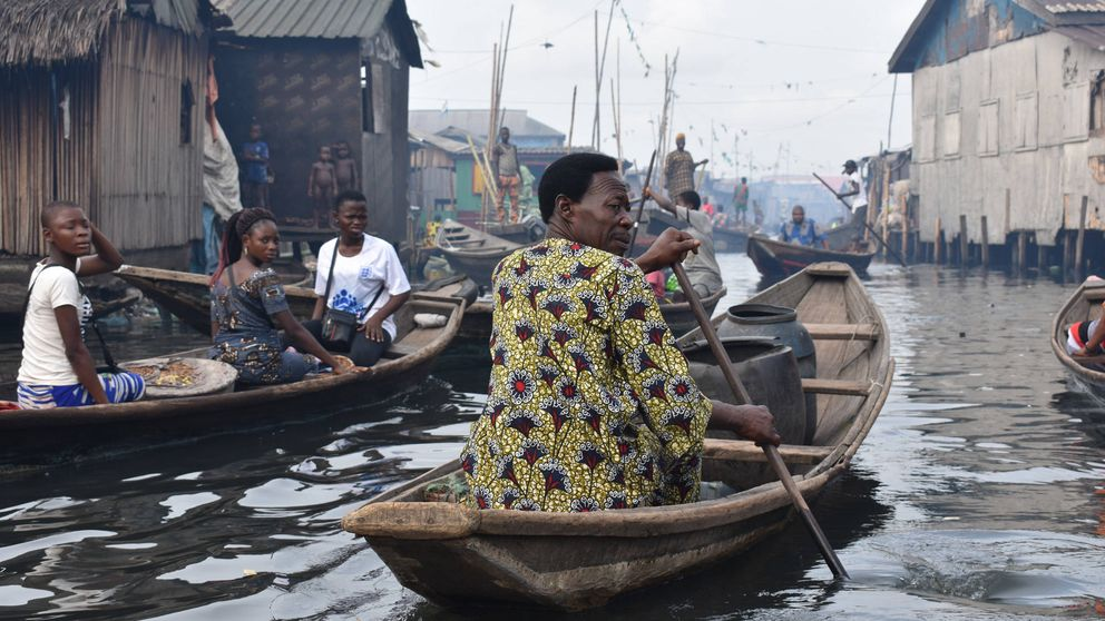 La belleza posapocalíptica de la Venecia nigeriana a la que nadie quiere ir