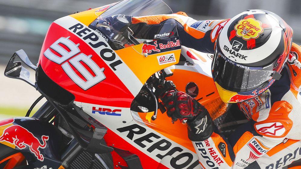Foto: Jorge Lorenzo en el pasado GP de Malasia con su Honda. (EFE)