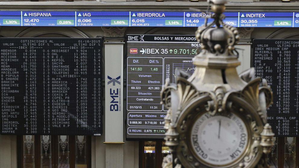 El Ibex sube un 4% tras la mejora del rating a España y las elecciones de Portugal
