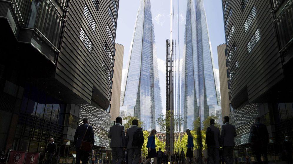 Foto: Imagen de la City londinense (Reuters)