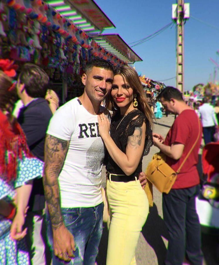Foto: Reyes y su esposa, Noelia López, en una imagen de Instagram.